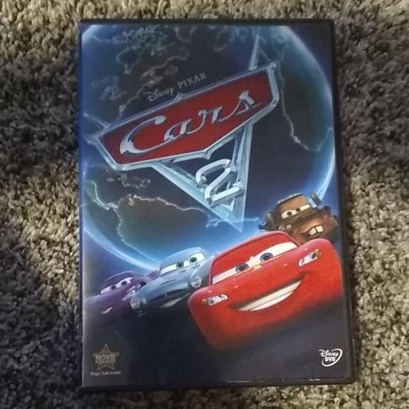 Disney Other Pixar Cars 2 Dvd Movie Poshmark